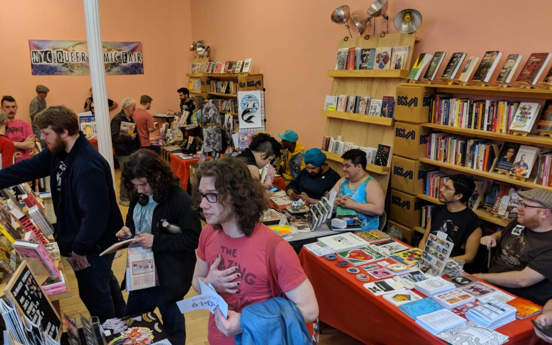 NYC QUEER COMIC FAIR 2019