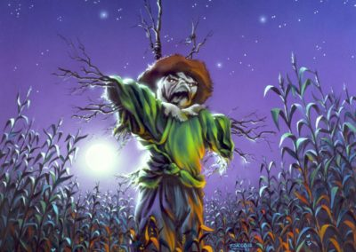 THE SCARECROW WALKS AT MIDNIGHT